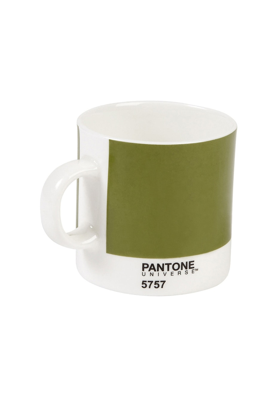 Pantone - Bone China Espresso Cup - Olive Green