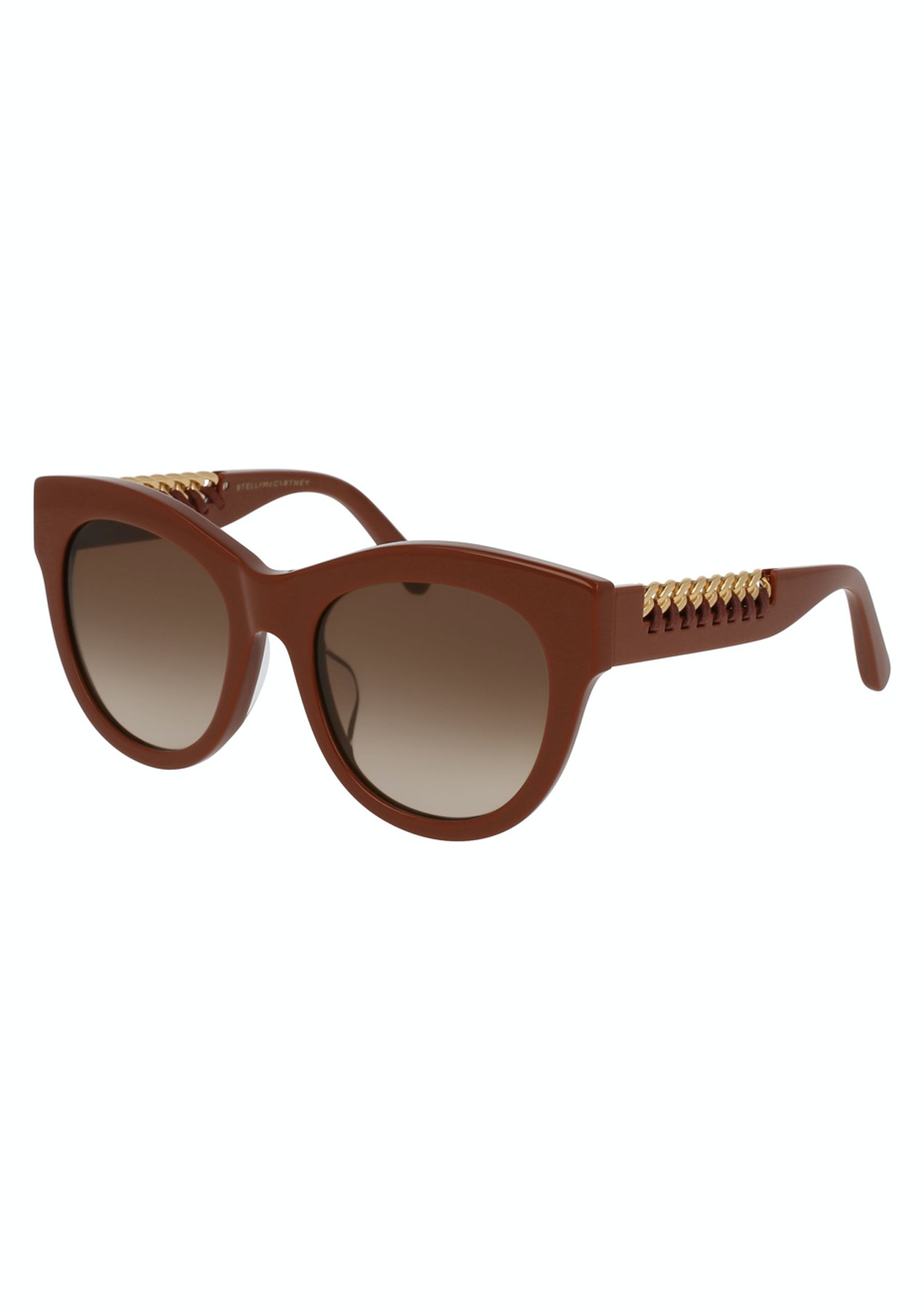9fd58711656 Stella McCartney - SC0064SA005 - Asian Fit - Red-Gold - Stella McCartney  Sunglasses up to 50% Off - Onceit