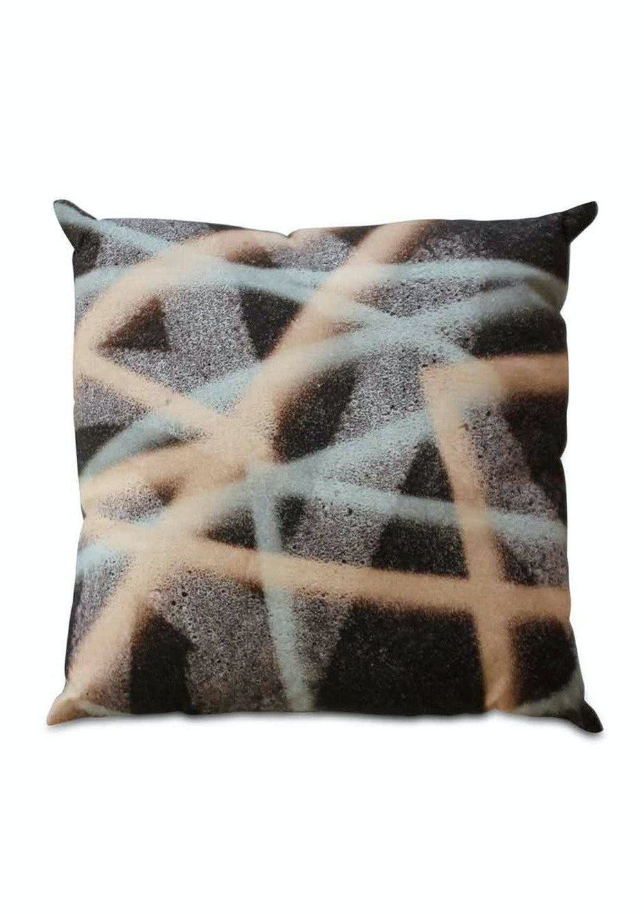 Me & My Trend - Graffiti Blush & Blue Cushion