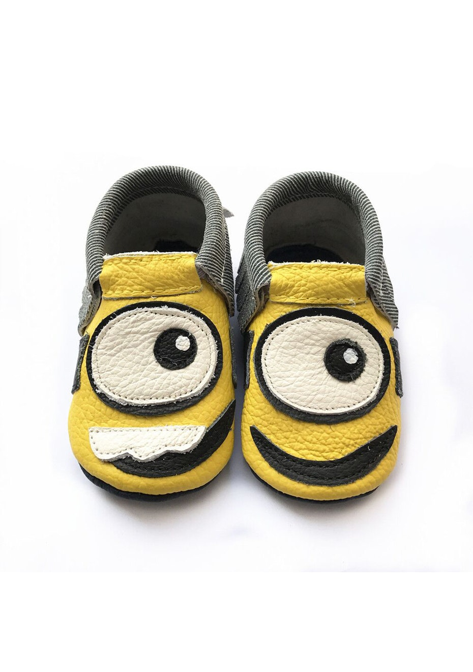 Baby  Leather Shoes - Yellow