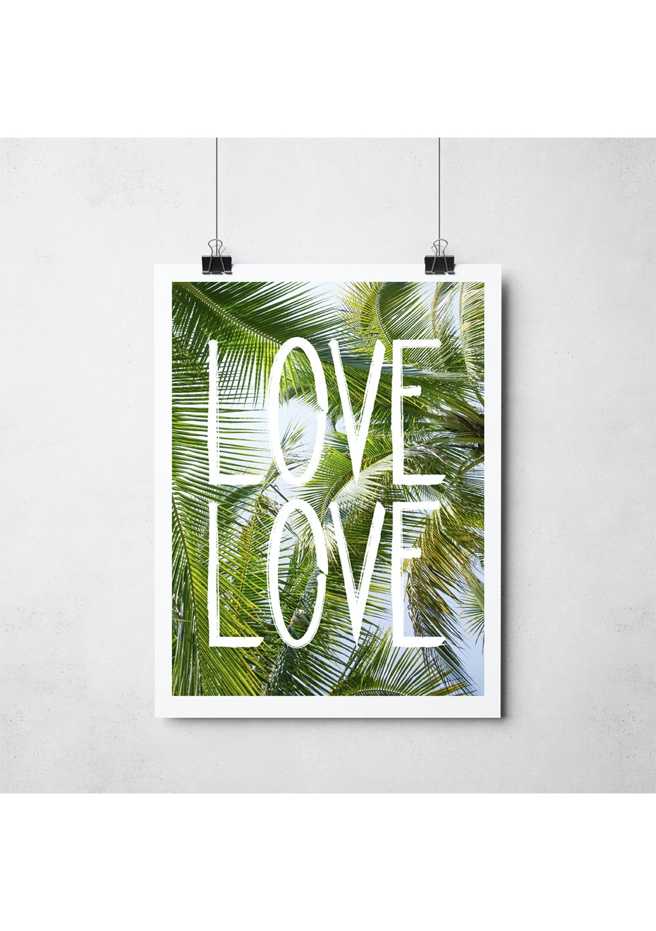 Simply Creative - Love Love - A3 Colour Print