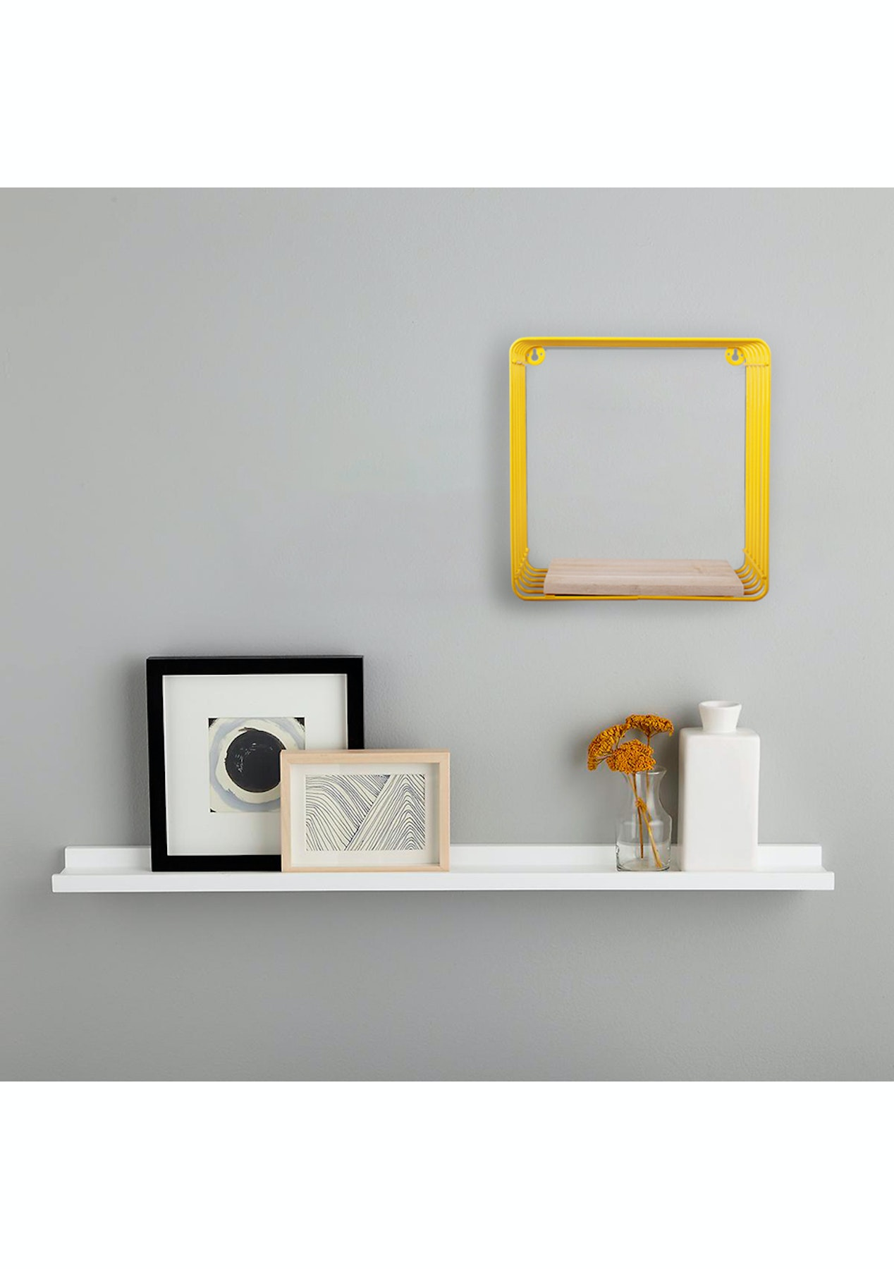 Wire Cube Display Shelf