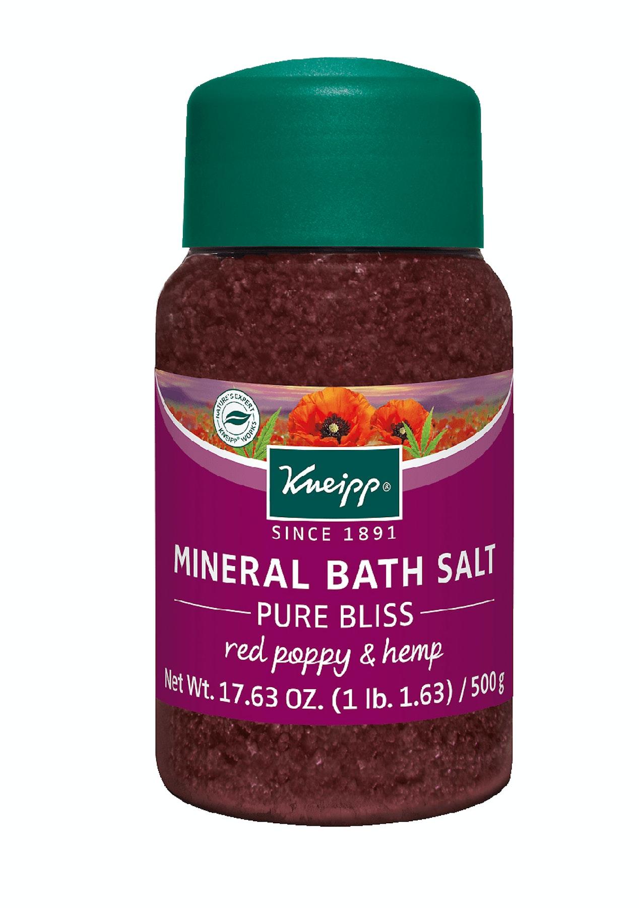 Kneipp - Bath Salt Pure Bliss Poppy Seed & Hemp - 500g