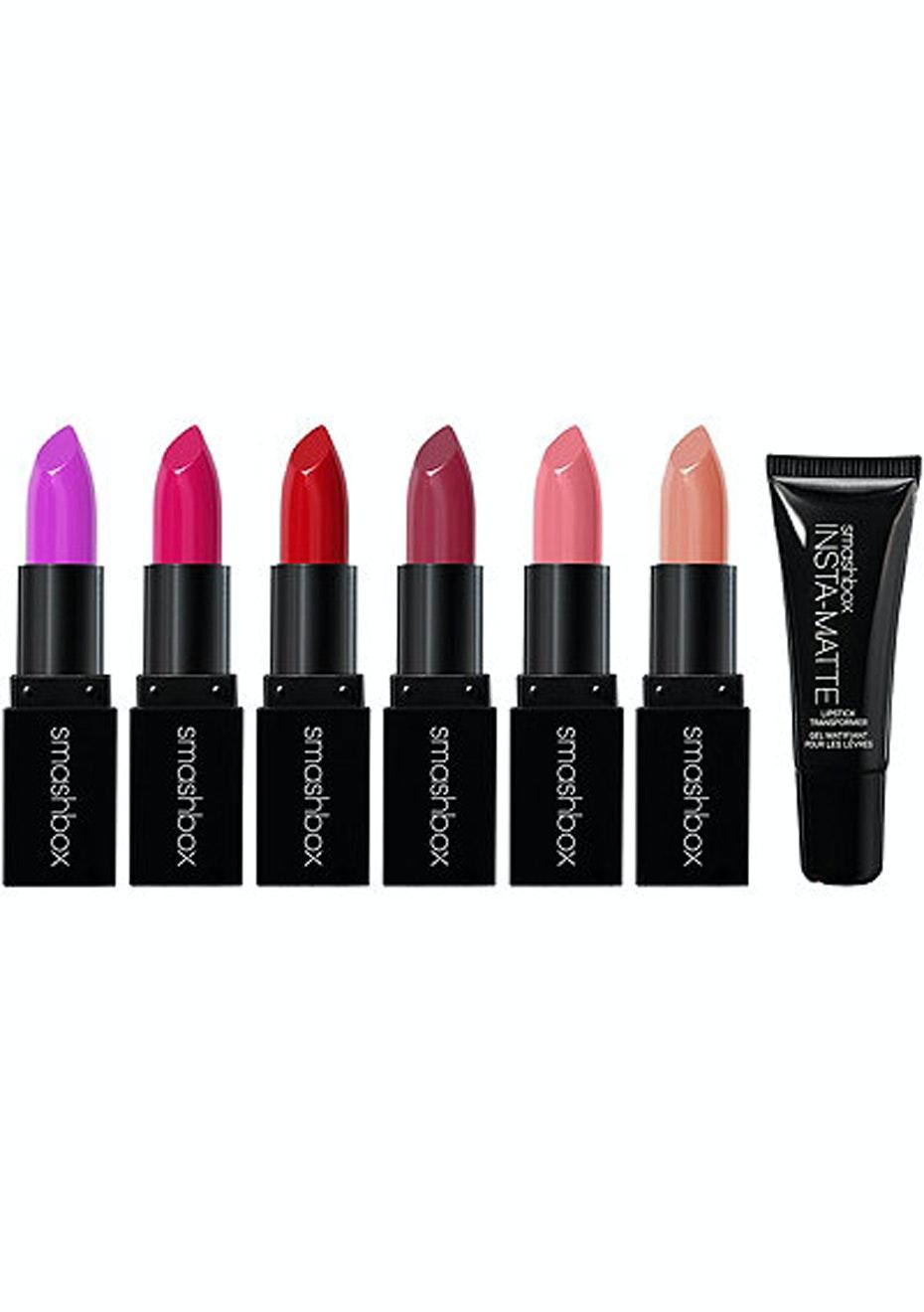 Smashbox - Light It Up Lipstick and Lip Mattifier Set