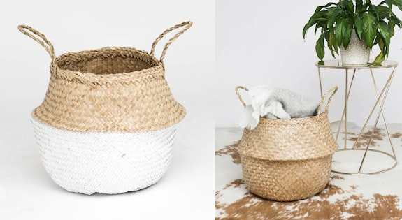 Under $30 Seagrass Baskets