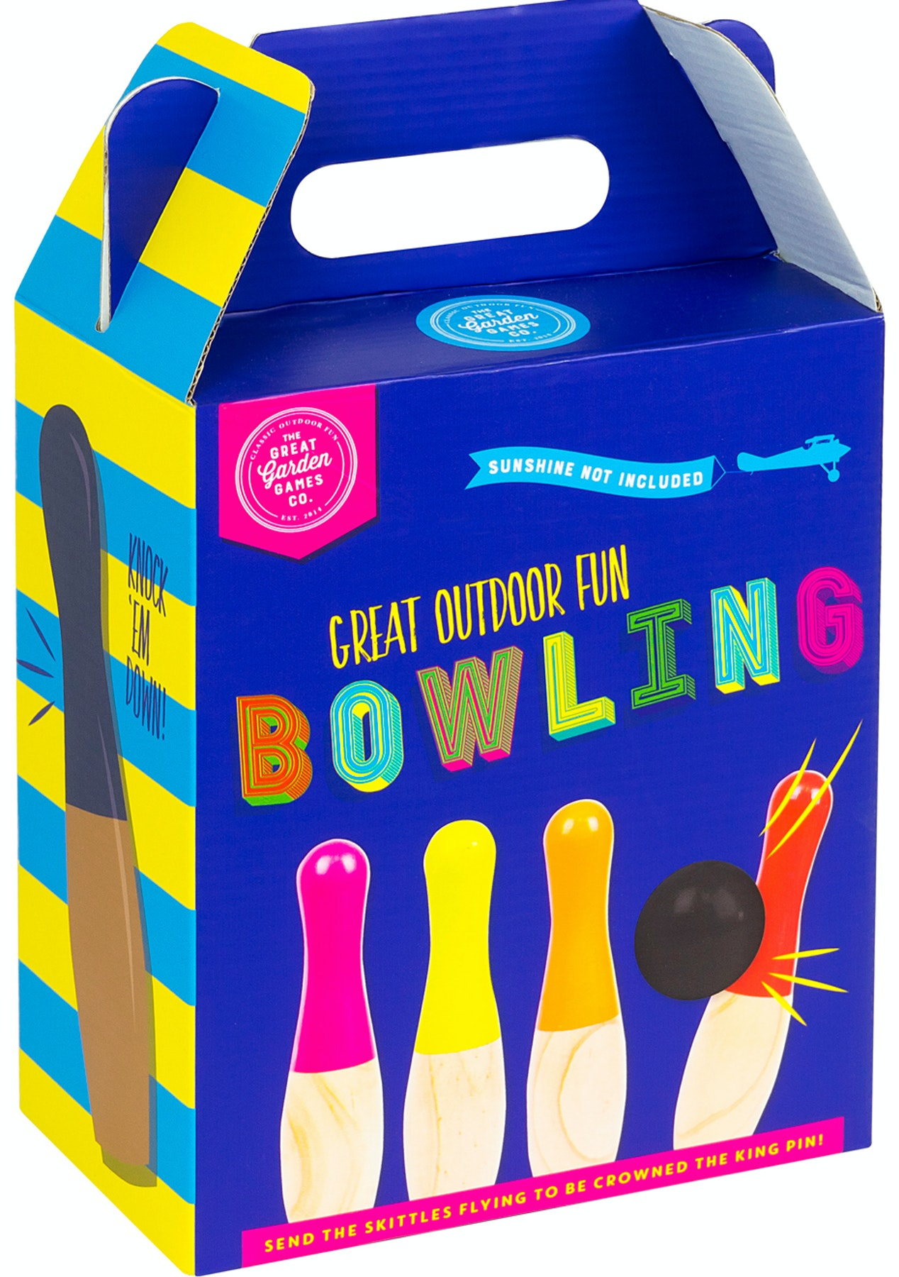 Bowling - Skittles (Bright Packaging) - Kids Express Shipping Gift Ideas - Onceit