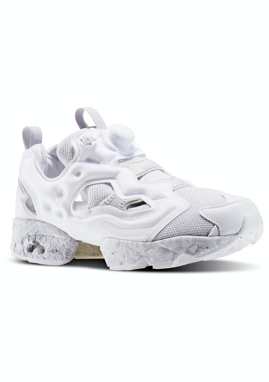 reebok mens instapump fury achm white lgh solid grey mens rh onceit co nz