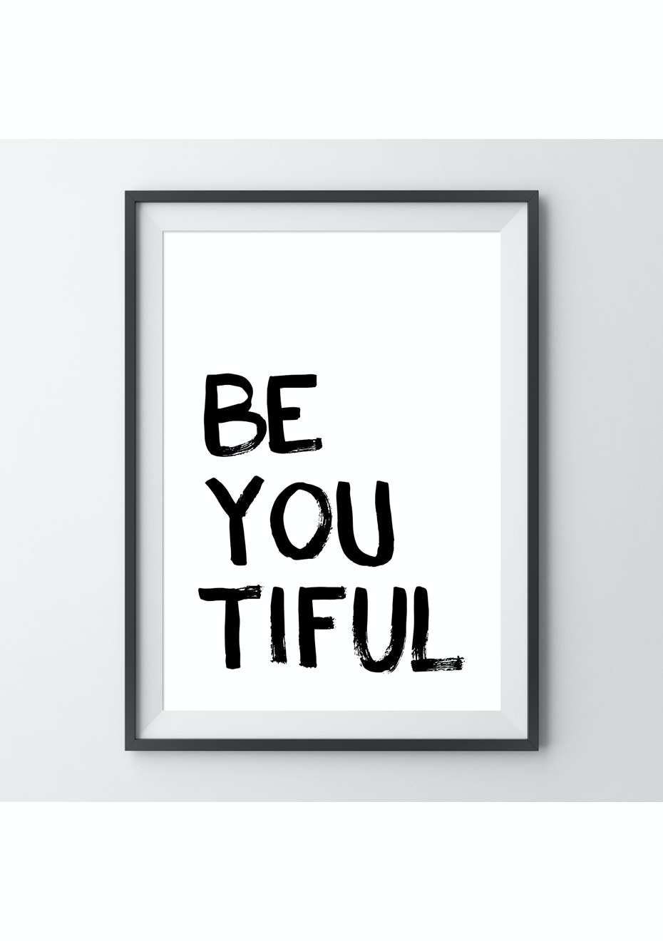 Simply Creative - Be You - A4 Colour Print