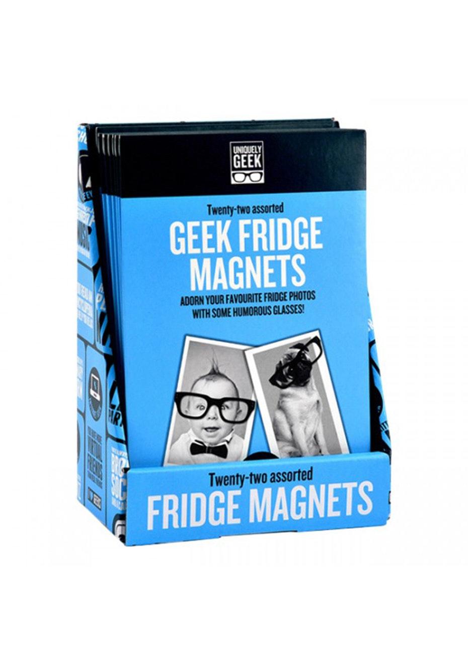 Ginger Fox - Geek Fridge Magnets