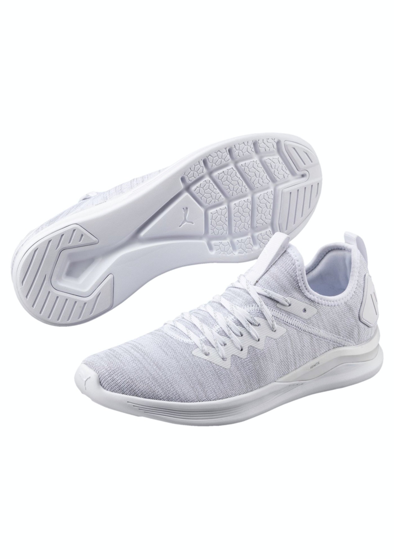 1e714ff34df Puma Mens - Ignite Flash Evoknit - White