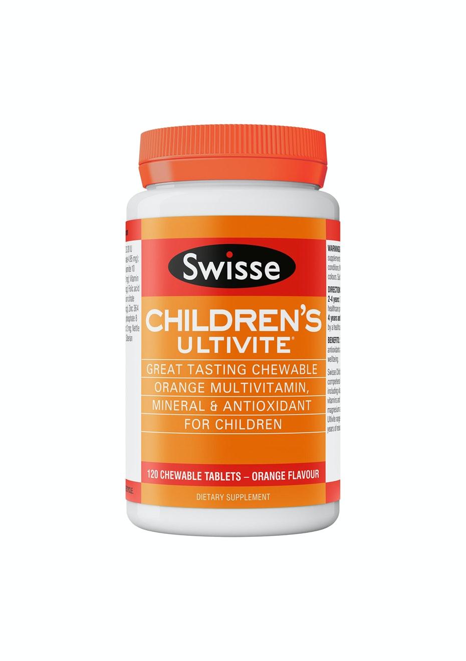 Swisse Childrens Ultivite 120 Tablets