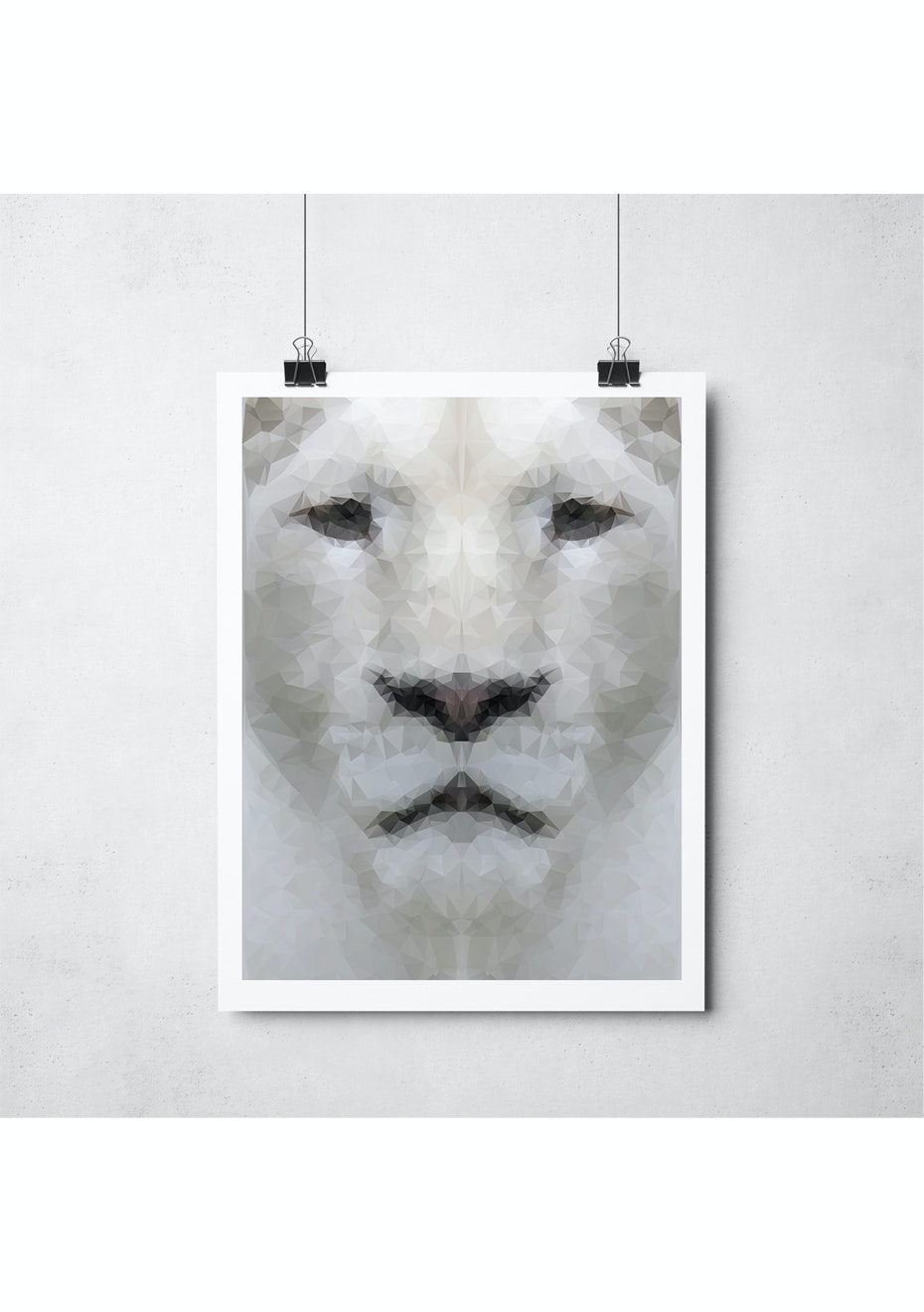 Simply Creative - Lion - A4 Colour Print