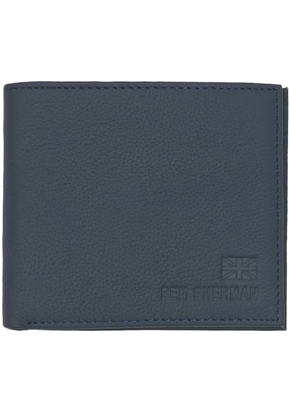 Ben Sherman - Digital Print Billfold Wallet Navy