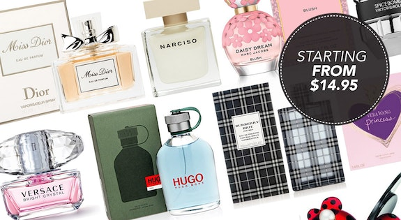 Image of the 'Fragrance Favourites' sale