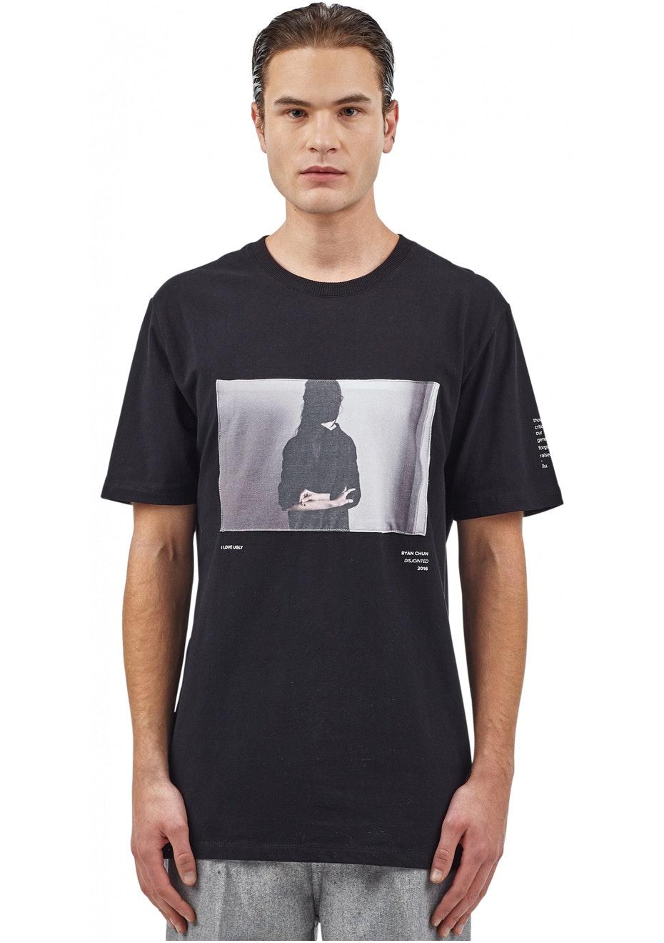 I Love Ugly - Rc Backwards Tshirt - Black