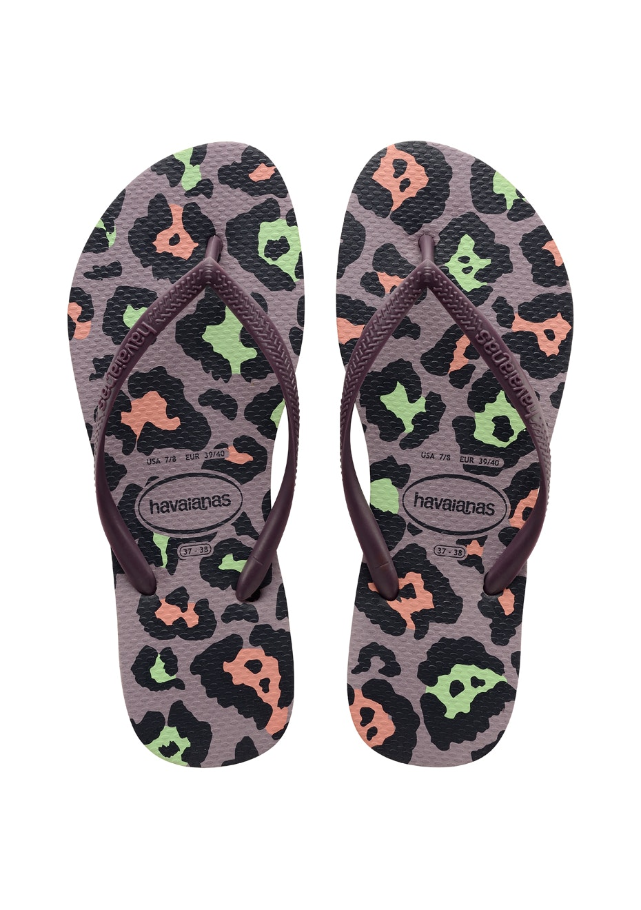 Havaianas Womens - Slim Animals 3252 - Grape Wine