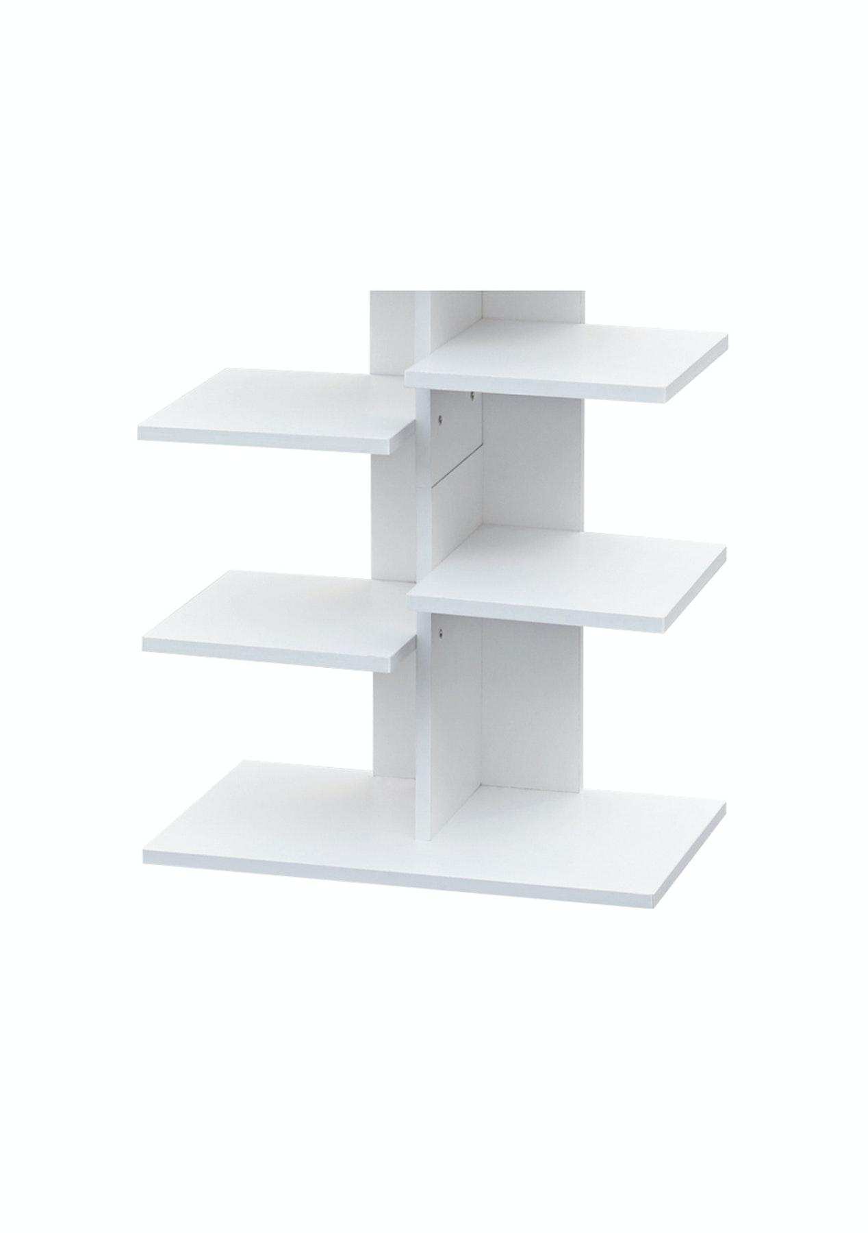 Brunner Shoe Rack Storage Shelf - White