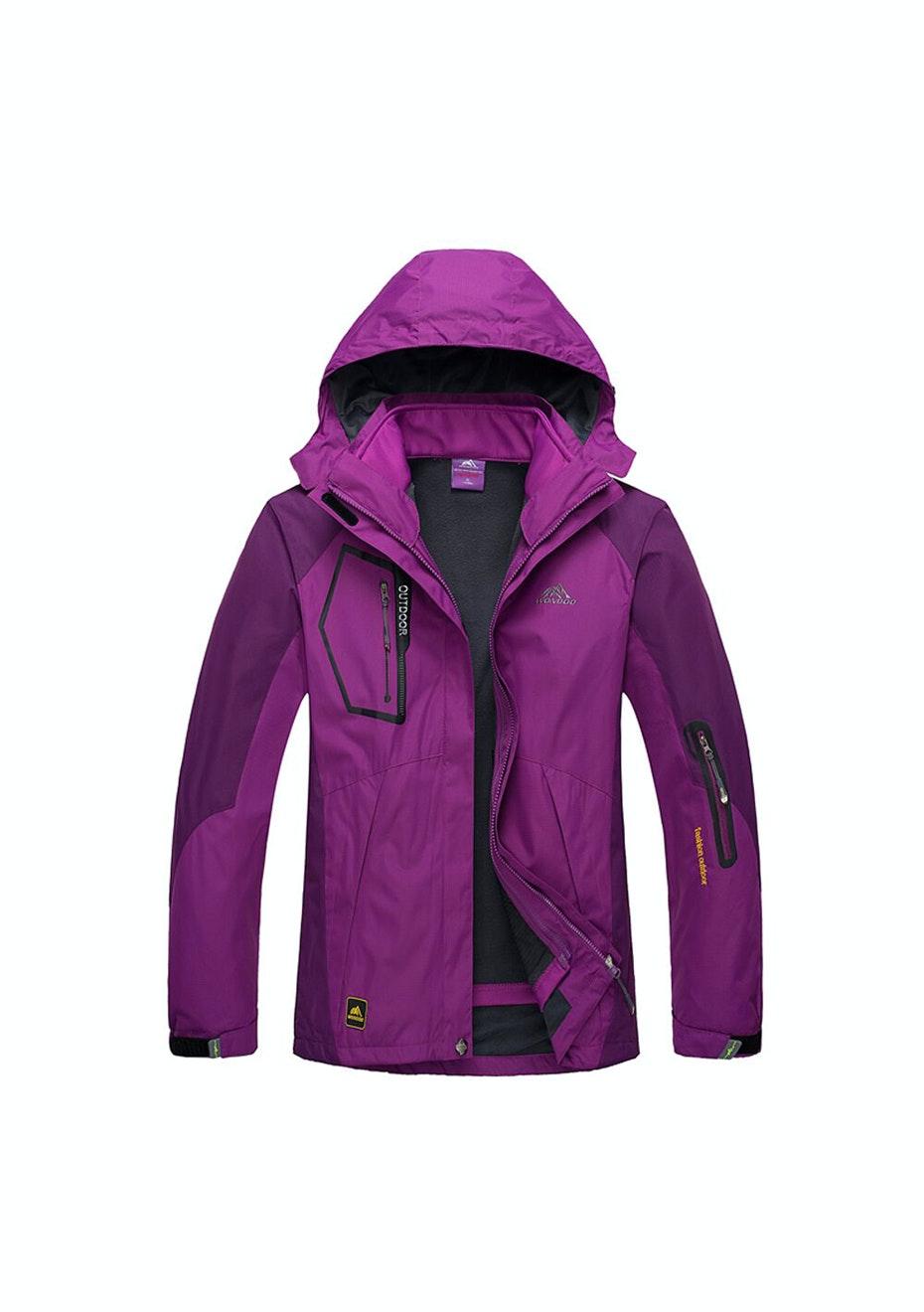 Women 2-in-1 WaterProof Jackets - Purple