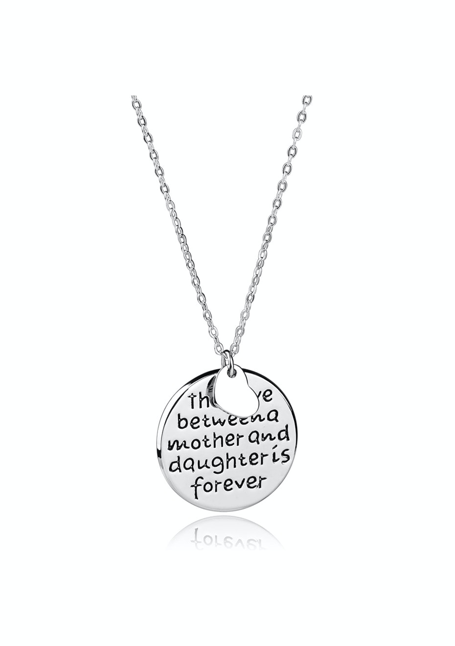 Mother and daughter love pendant Necklace