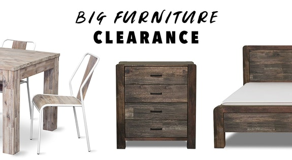 Big Furniture Clearance