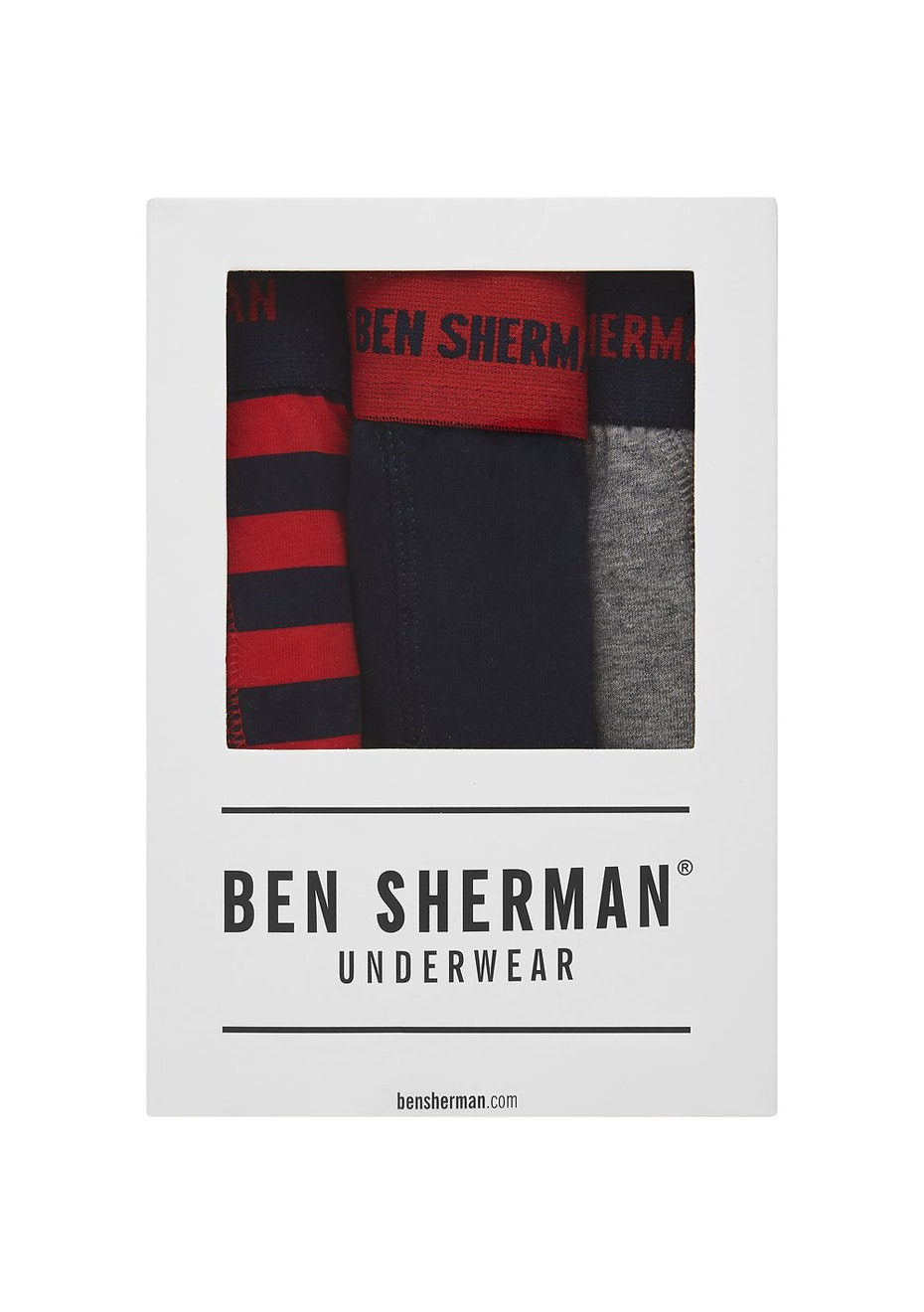 Ben Sherman - Austin 3 Pack Trunk
