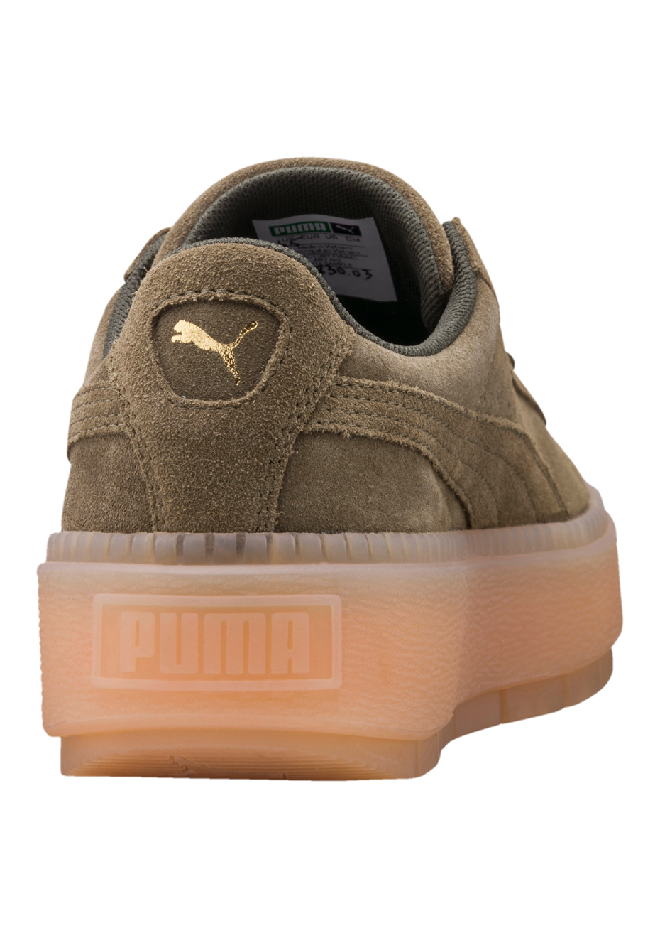 Puma Basket Classic Waterproof Sneaker Olive Classic Puma