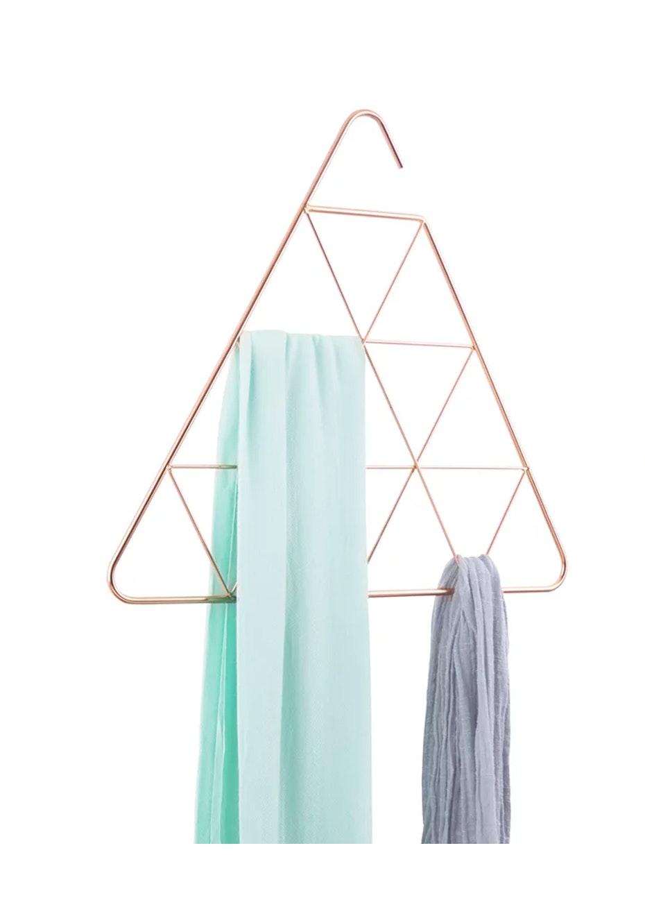 Umbra - Umbra Pendant Scarf Hanger Triangle - Copper