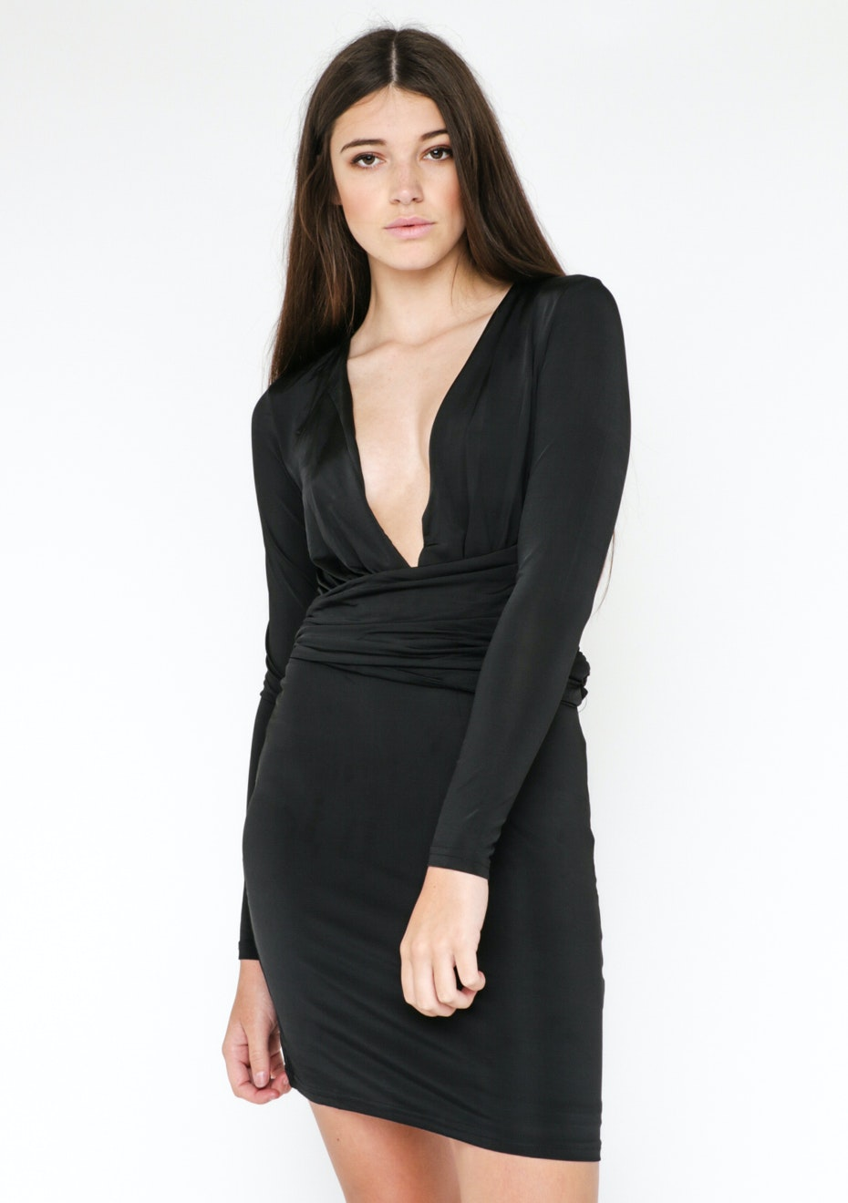 Lioness Another Day Dress - Black
