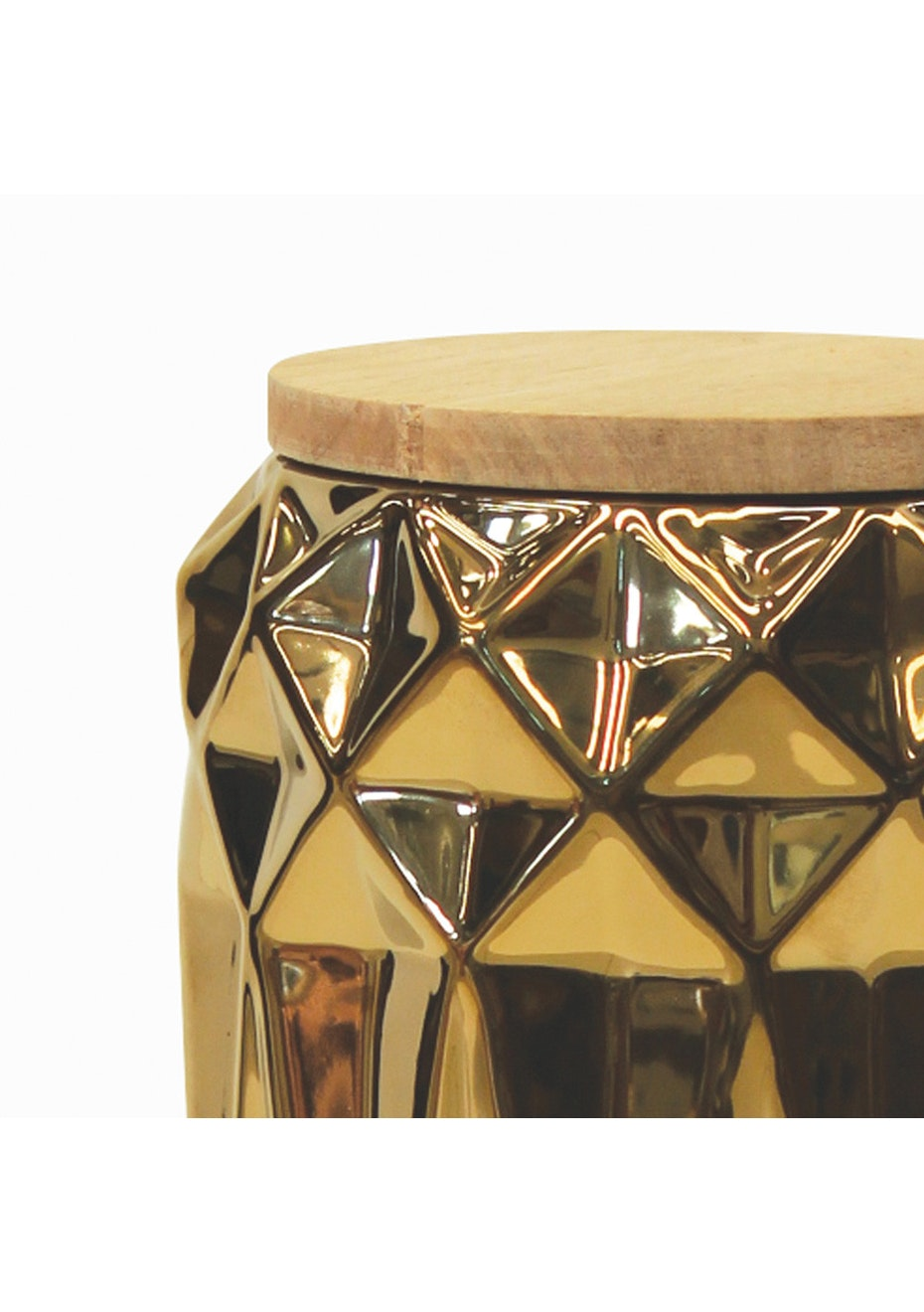 Me & My Trend - Gold Geo Canister