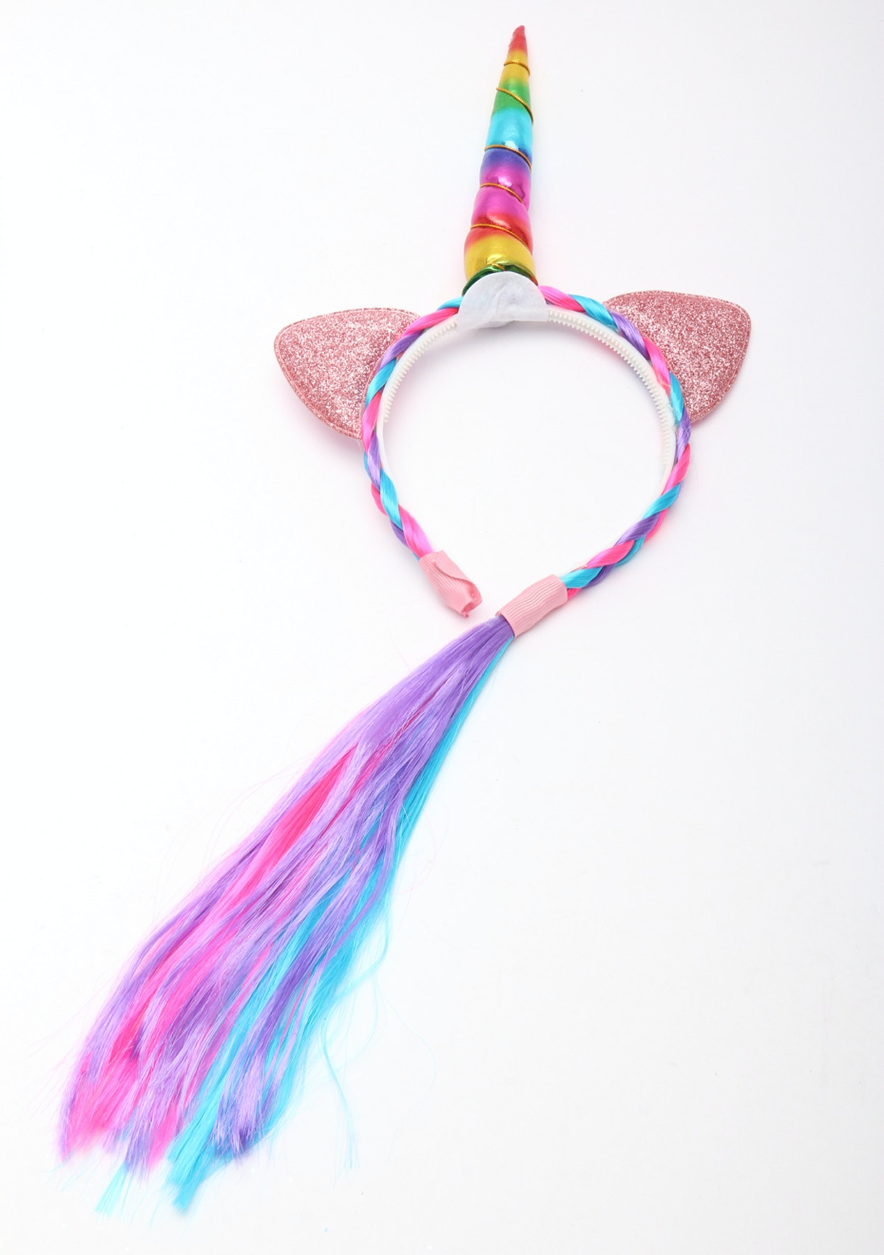 Unicorn Headband With Tail - Rainbow - New Kids Toys   More - Onceit 76dc5a7a939