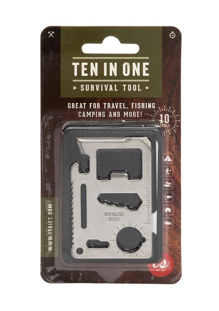 10 in 1 Survival Tool