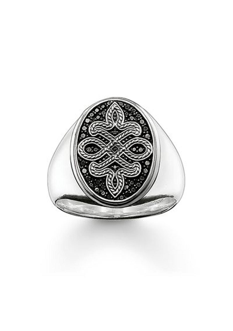 Thomas Sabo  - Men'S Rebel Love Knot Ring