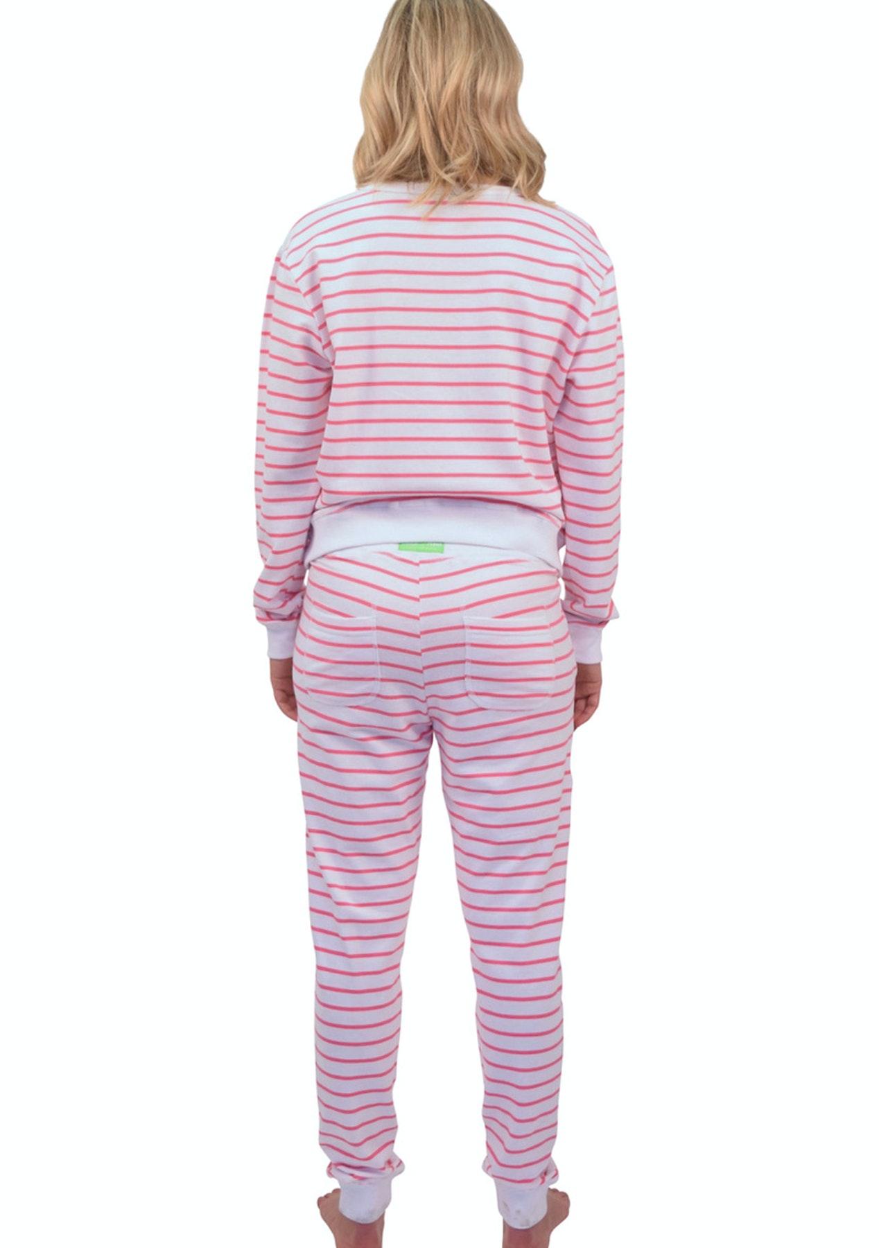 cf83aee67d10 Sant   Abel - Women - PJ Pants Cotton - Pink Zebra - Luxe Silk   Sleepwear  - Onceit