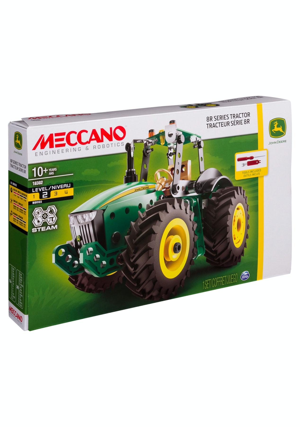 John Deere Gifts >> Meccano John Deere 9rt Tractor Gifts For Kids Onceit