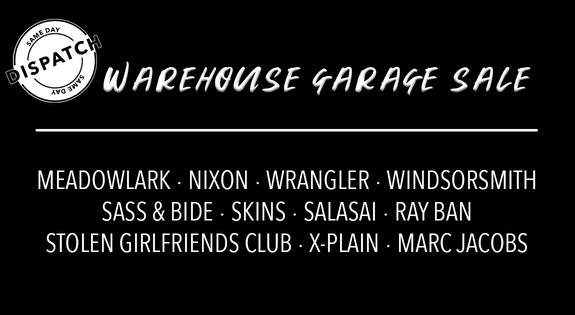 Warehouse Garage Sale