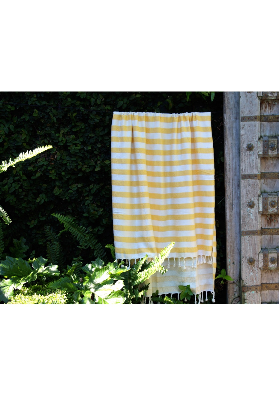 Acelia Yellow Turkish Towel