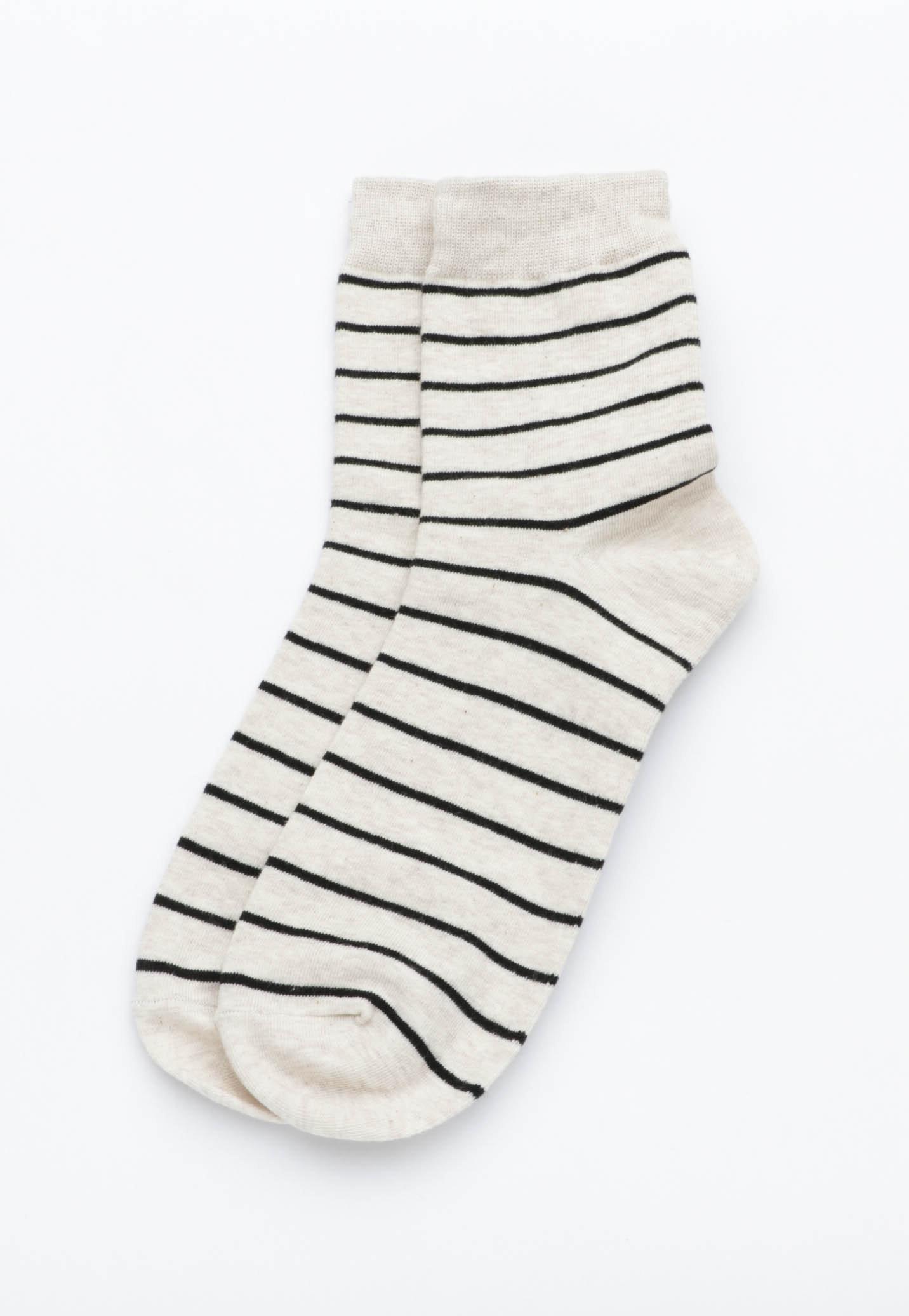 Stripe Socks - Oatmeal