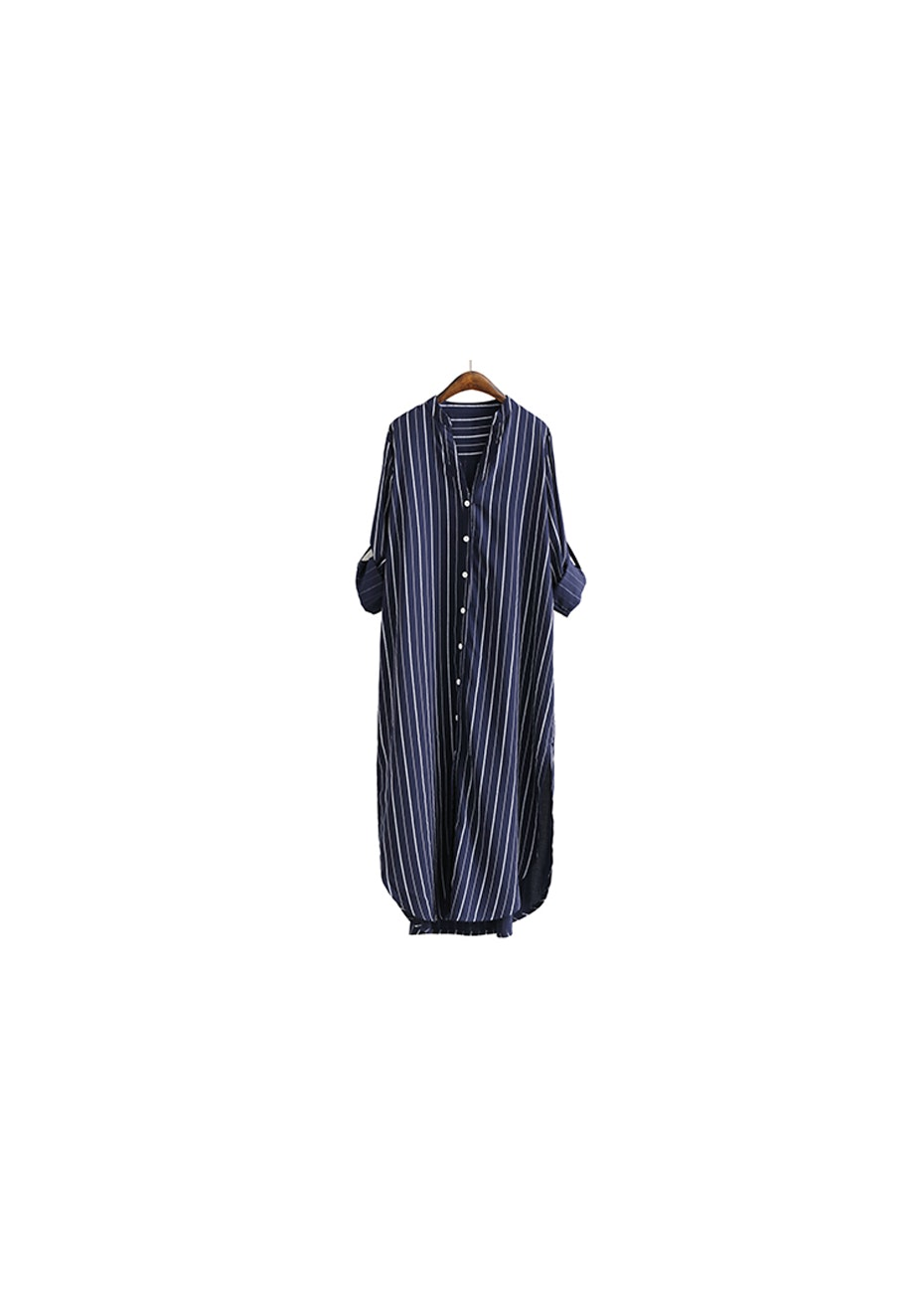 Celini Shirt Dress - Navy