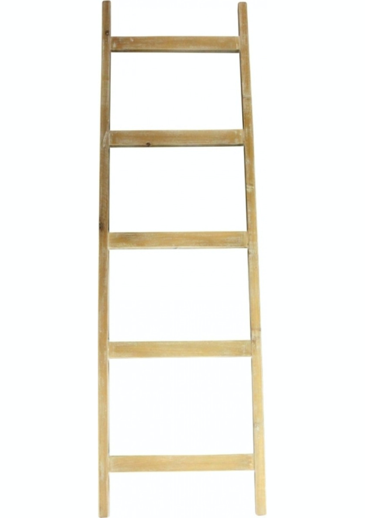 Bianco Natural Display Ladder 150Cm  Shelves, Bookcases, Storage &
