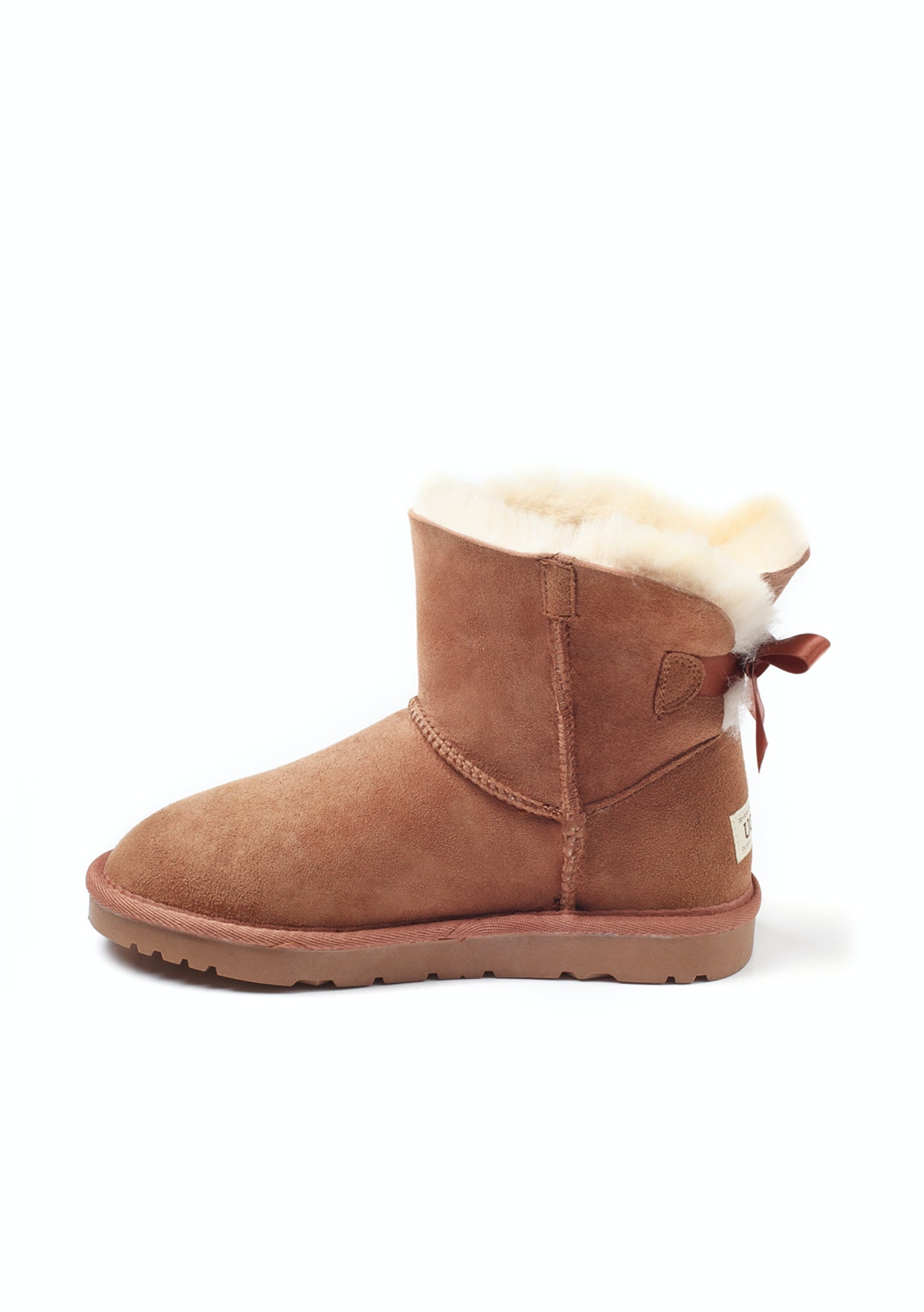 484c0c530b2 Ozwear - Ugg Classic 1 Ribbon Boots (Water Resistant) - Chestnut