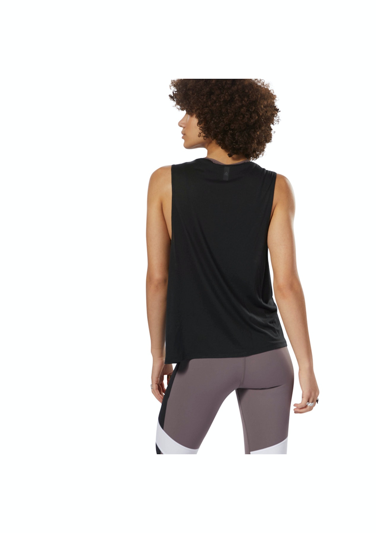 ee445f61 Reebok Womens - Ts Muscle Tank -Gra Black - Big Brand Activewear Price drop  - Onceit