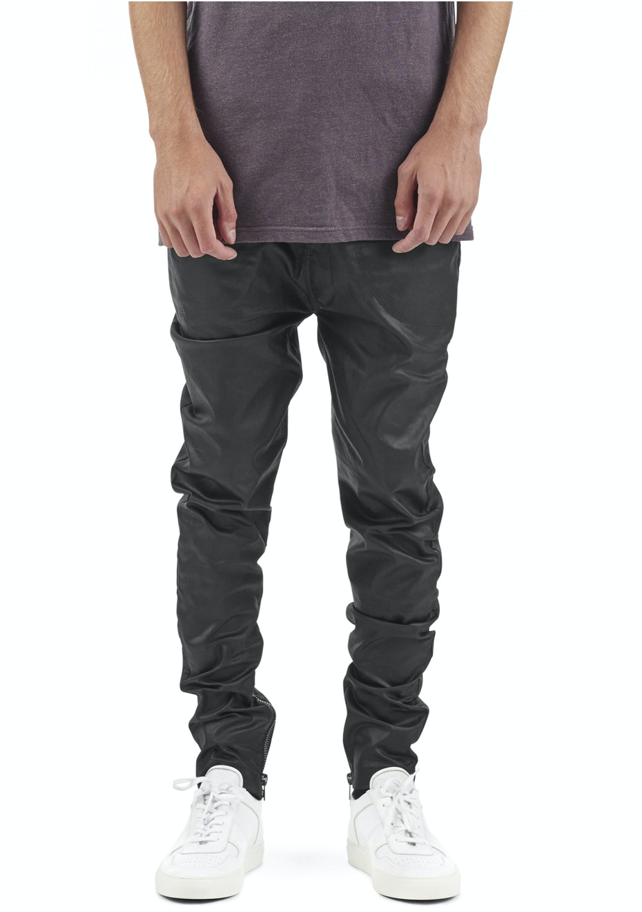 I Love Ugly - Waxed Zespy Pant - Black