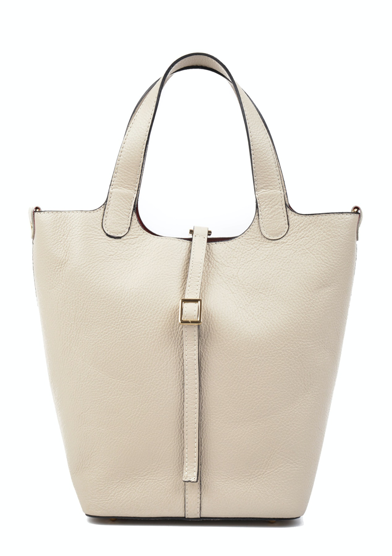 0352404472 Carla Ferreri - Top Handle Bag - Beige - Monochrome Leather bags up to 74%  off - Onceit