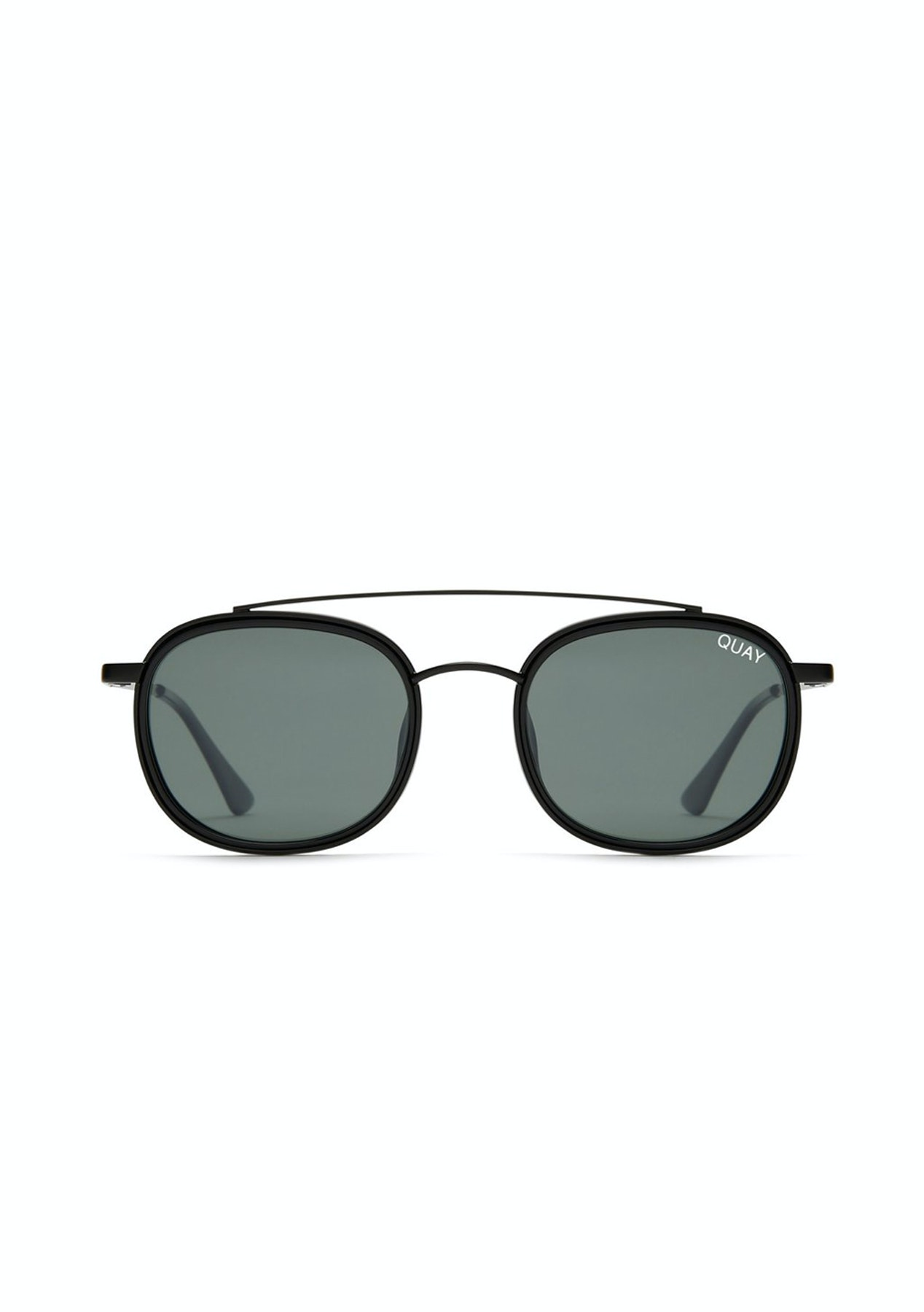 72530f6269 Quay Australia - Got It Covered - Black   Green Lens - Express Shipping  Eyewear Outlet - Onceit