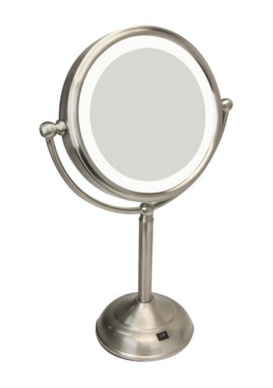 Homedics LED illuminated make up mirror – Large