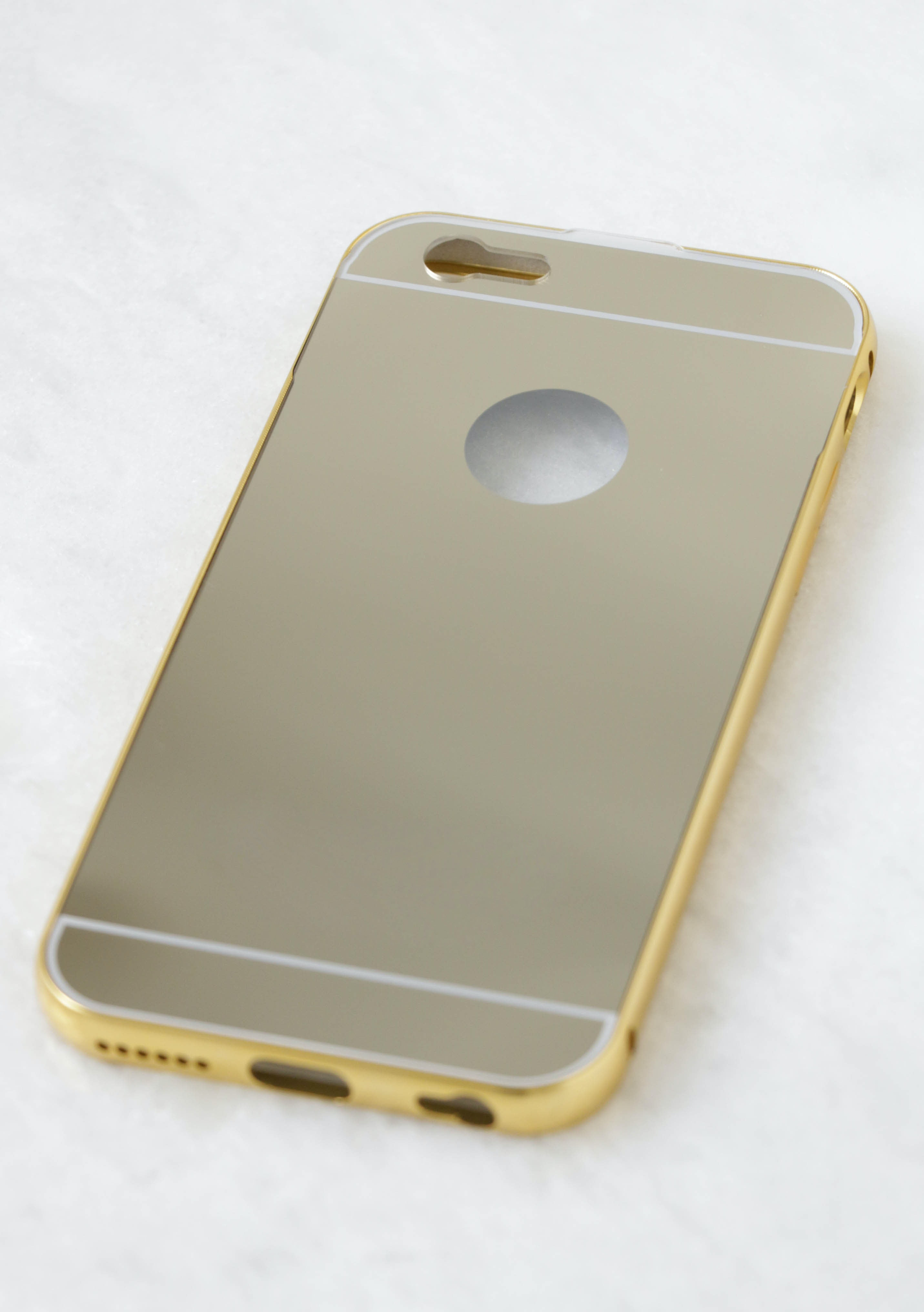 MIRROR IPHONE 6 CASE - GOLD