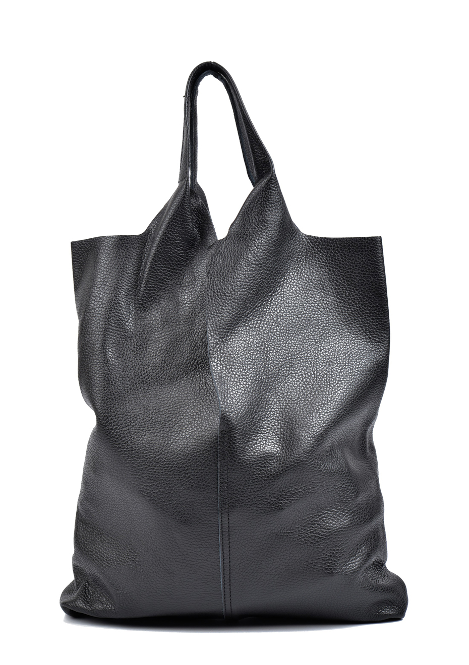 Rhea Bag Genuine Nero Bags Isabella Shopper Leather From Nm8n0w