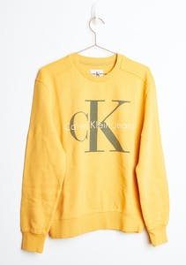 40c1f5952af Calvin Klein - Pop Colour Sweatshirt - Spectra Yellow