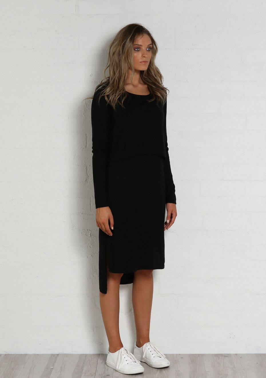 Madison - HANA DRESS - BLACK