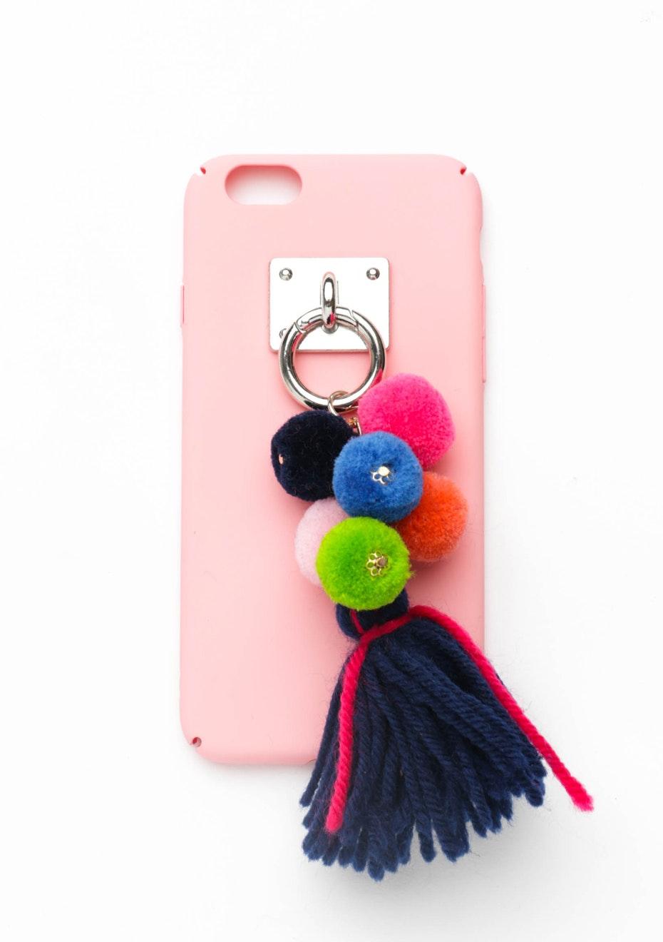 Tassel Pom Pom Case - Iphone 6 Plus